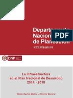 Infraestructura en El Plan Nacional de Desarrollo 2014- 2018