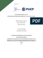 Documento Final Plan de Gestión TIC