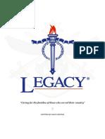Essay for Legacy Australia