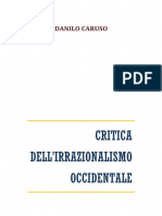 Critica dell'irrazionalismo occidentale