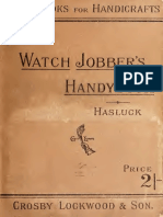 The Watch Jobbers Handybook 1889
