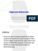 Vaginosis Bakterialis ppt