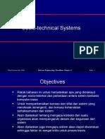 1. Socio Technical Systems