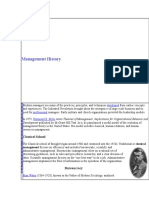 Management History.doc