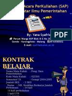 Materi Pengantar Ilmu Pemerintahan Full