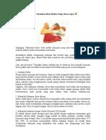 10 Cara Turunkan Berat Badan Tanpa Rasa Lapar.doc