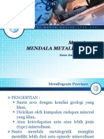 Materi 04 Mendala Metalogenic