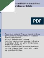 Proiect Protezare totala