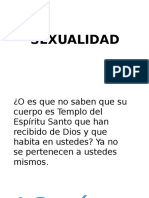 Sexualidad- Catequesis