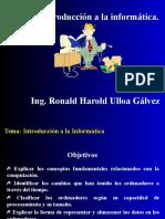 Introducción ala Informatica