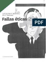 2016-09-2120161529Bazerman Tenbrunsel - Fallas Eticas