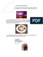 5 Cara Sehat Ala Rasulallah SAW