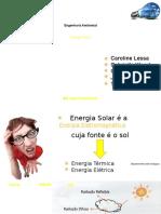 Trabalho de Engenharia Ambiental - EnERGIA SOLAR