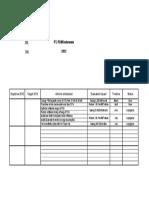 Actions Plan - Env1 KPI's 2012