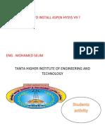 how to install aspen hysys v9.pdf