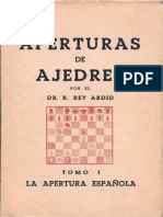 Aperturas de Ajedrez 01, La Apertura Española - Rey Ardid, R - 1945a (1).pdf