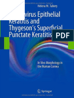 Adenovirus Epithelial Keratitis and Thygesons Superfi Cial Punctate Keratitis in Vivo Morphology in the Human Tabery 2011