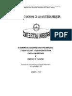Reglamento Elecciones Estudiantes Au Cu Cf 2016