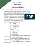 D.S.014_92_EM TUO Ley General de Mineria