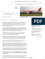 Avión de Avianca Habría Sido Hostigado Por Avión Venezolano - Latinoamérica - ELTIEMPO