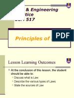 Principles of Law