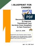 transitional care blueprint - April 23, 2008