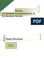 3 LiteratureReview Summary