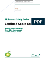BP Process Safety Series , Confined Space Entry-2005