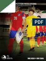 Afc u19 Championship 2016 Regulations