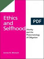 Ethics and Selfhood Sos Sos