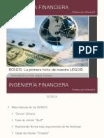 Ingeniería Financiera 3 - Bonos