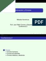 Conf 02 Modelos y Errores 2s 2015