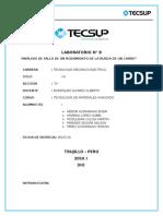 Deteccion de Falla Informe