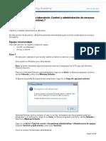 5.3.3.5 Práctica de Laboratorio Control y Administración de Recursos Del Sistema en Windows 7
