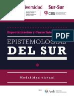 Curso y Especializacion Epistemologias Del Sur