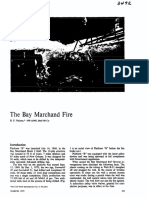 The Bay Marchand Fire, 1970