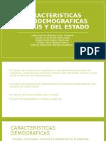 Caractersiticas Socio-Demograficas de Mexico