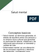 Salud Mental en cuidadores