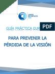 Guia Practica Europea Para Prevenir La Perdida de La Vision