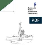 Commercial Marine Installation Directions en Español