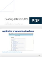 04 - Reading From APIs