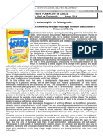 TestFormativo ConsumerismMarch2014 KEY