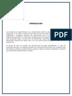 Buen Informe Estructuras Algoritmicas