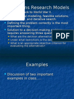 Operations Research Model.ppt