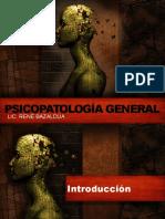 Psicopatología General
