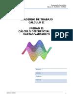Cuaderno de Trabajo Cálculo II Unidad II