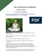 Meditación Para La Liberación de Implantes- 10pgs.