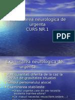 CURS NEURO NR 1