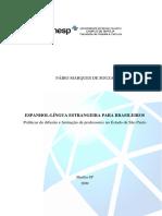 Dissertação Língua estrangeira para brasileiros