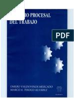 Derecho Procesal Del Trabajo - Omero Valdovinos Mercado y Marco a. Tinoco Alvarez